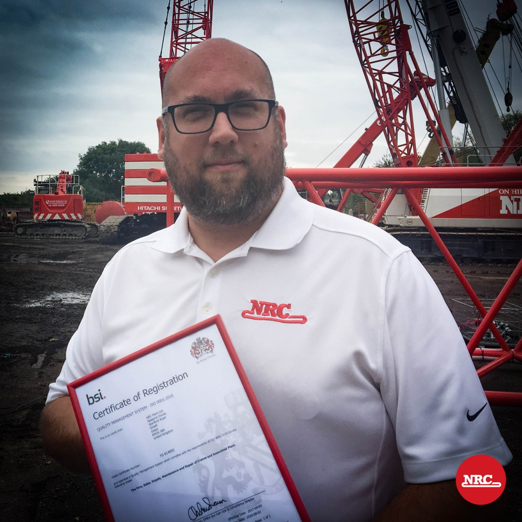 Dave Rees NRC ISO 9001:2015