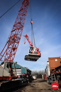 NRC Mini Telescopic Crawler Crane